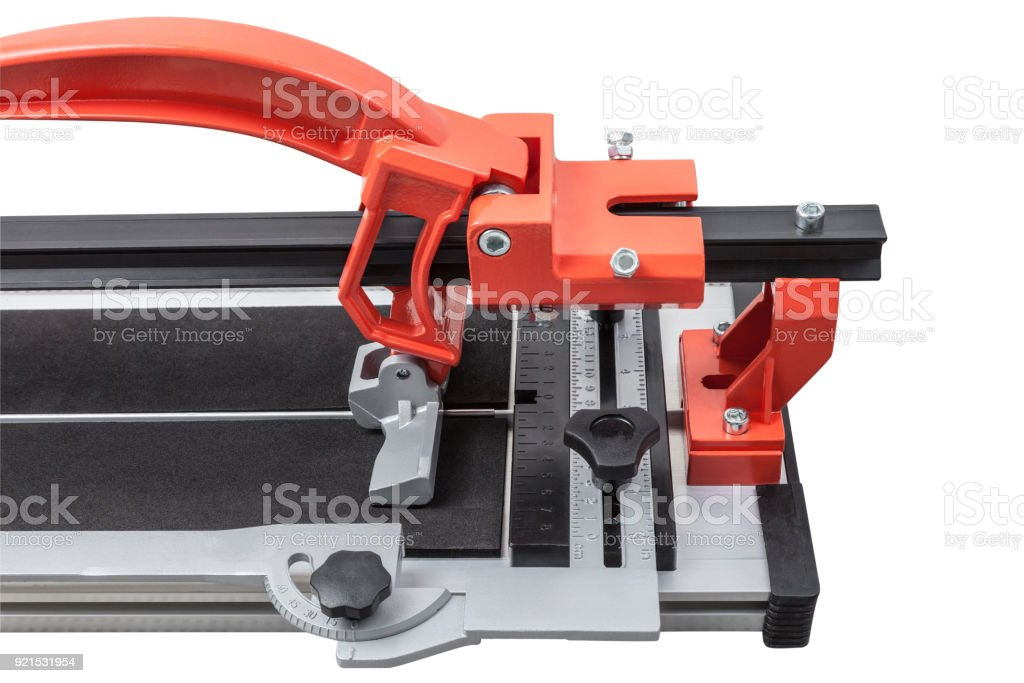 ceramic tile cutter isolated on white stock photo download image now istock