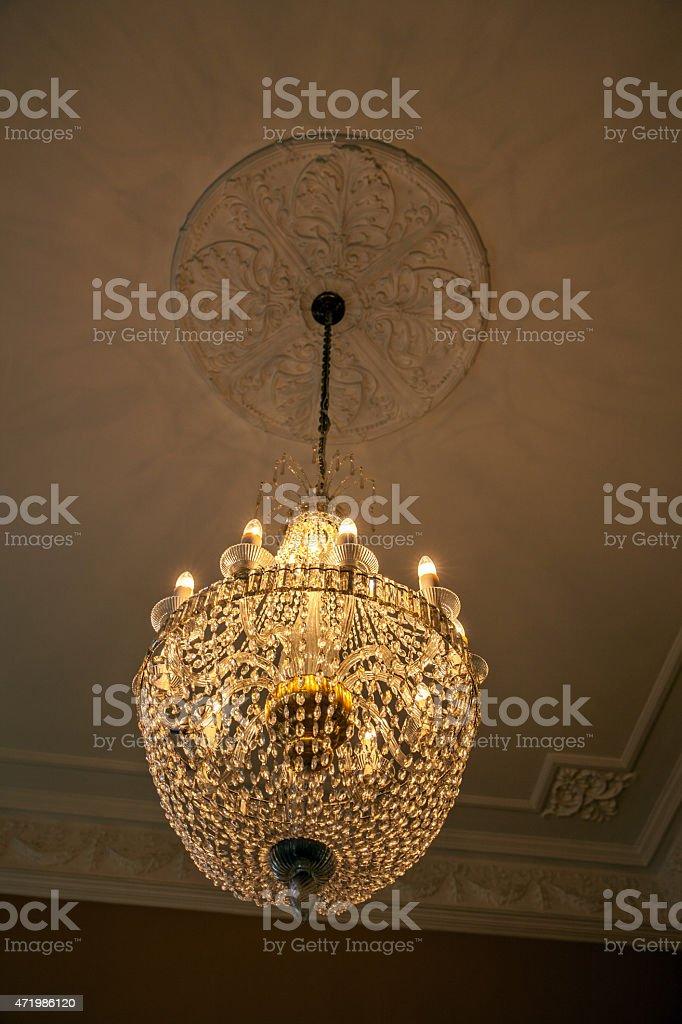 https www istockphoto com photo chandelier light fittings inside church gm471986120 63851459