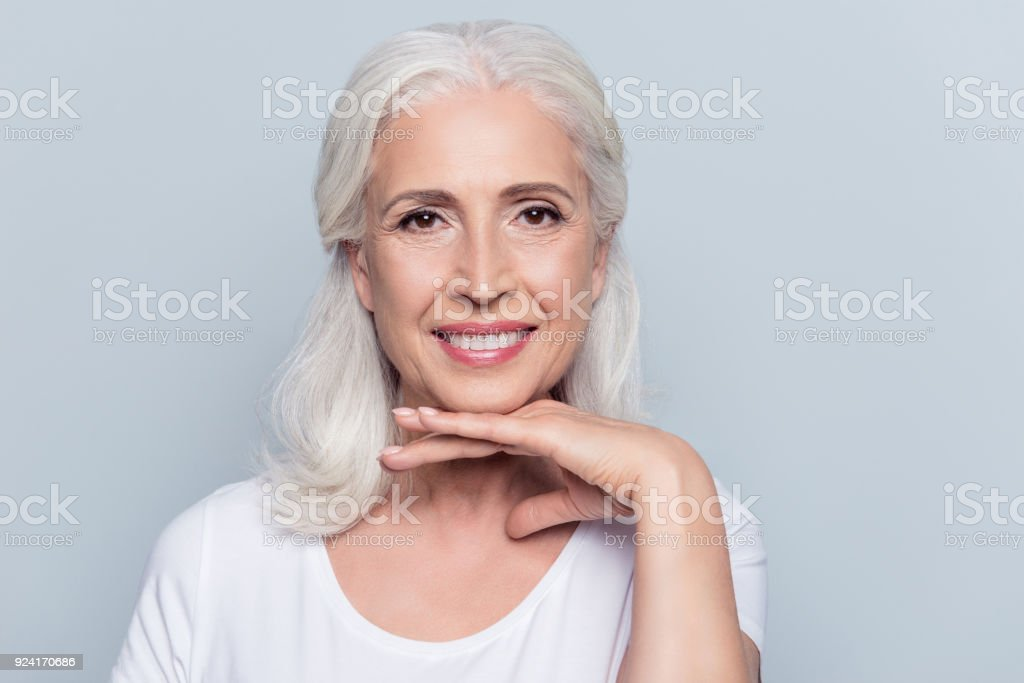 best old woman stock