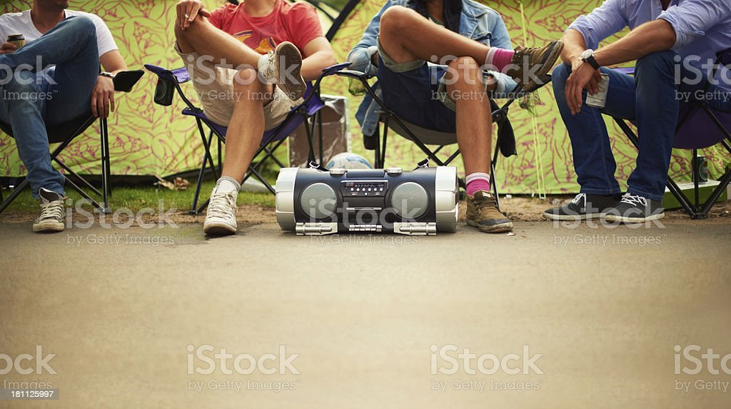 chilling to the beat