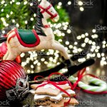 Christmas Decoration Rocking Horse And Handmade Cookies Stock Photo Download Image Now Istock