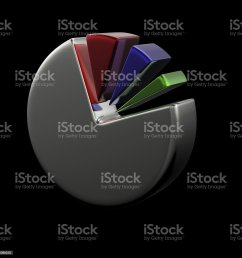3d circular diagram on black royalty free stock photo [ 1024 x 1024 Pixel ]