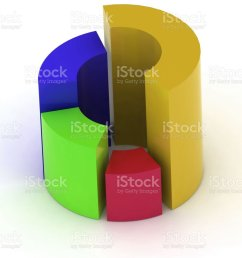 3d circular diagram on white background royalty free stock photo [ 896 x 1024 Pixel ]