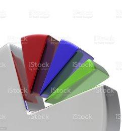 3d circular diagram on white royalty free stock photo [ 1024 x 1024 Pixel ]