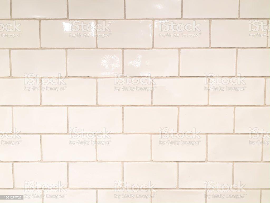 classic ceramic off white subway tiles stock photo download image now istock
