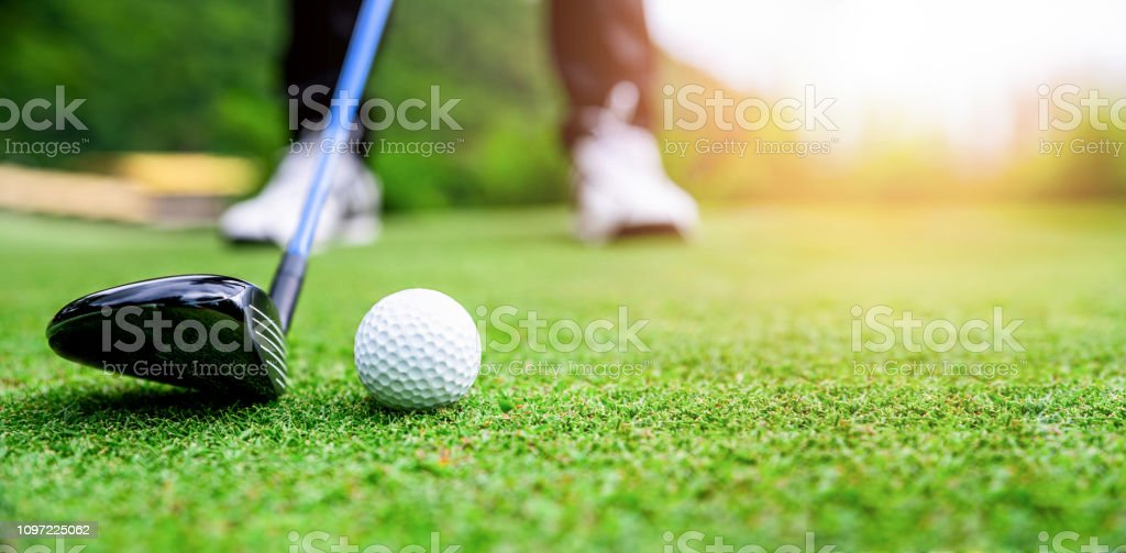 best golf stock photos