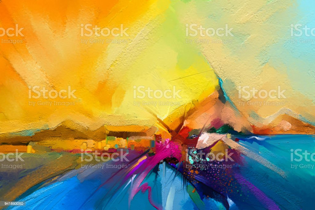 best abstract paintings stock
