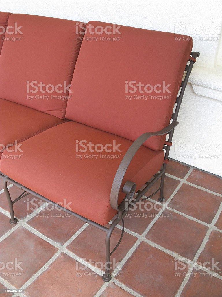 https www istockphoto com photo comfortable outdoor seating patio furniture architectural exterior sofa terra cotta gm116966780 6355132