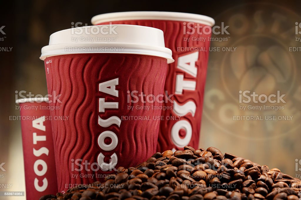 best costa coffee brand
