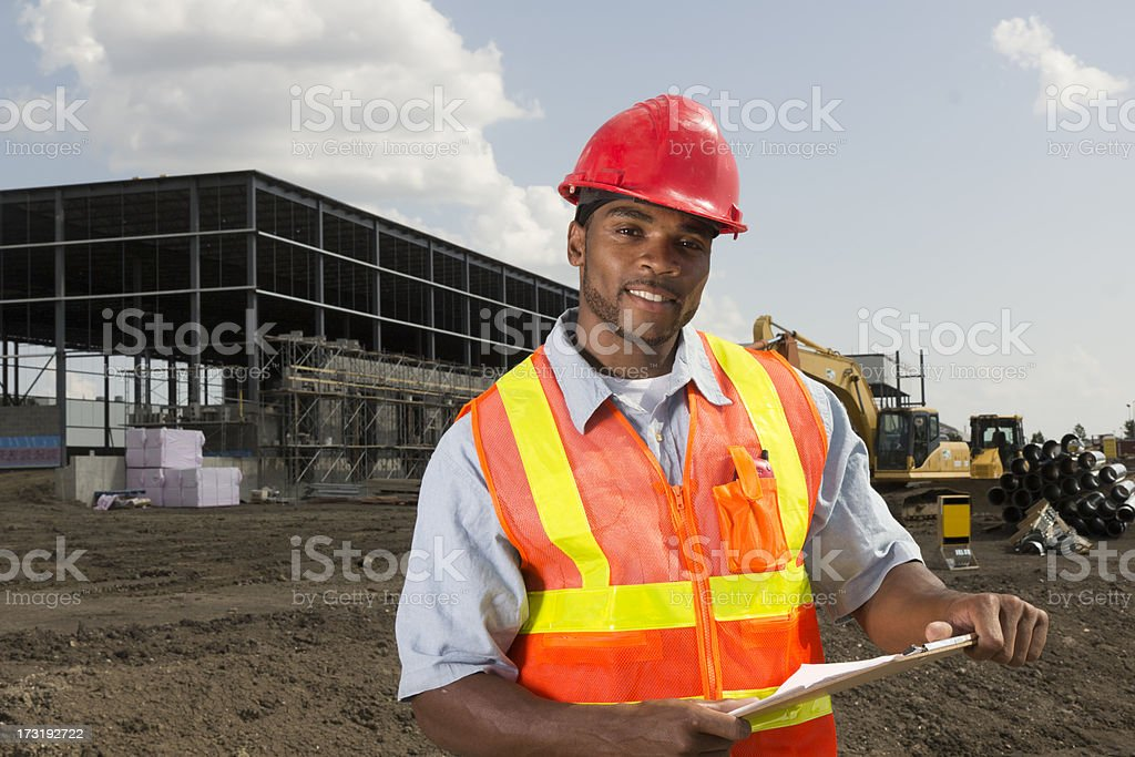 Construction Site Supervisor stock photo 173192722  iStock