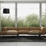Contemporary Leather Sofa Living Room Interior Stock Photo Download Image Now Istock