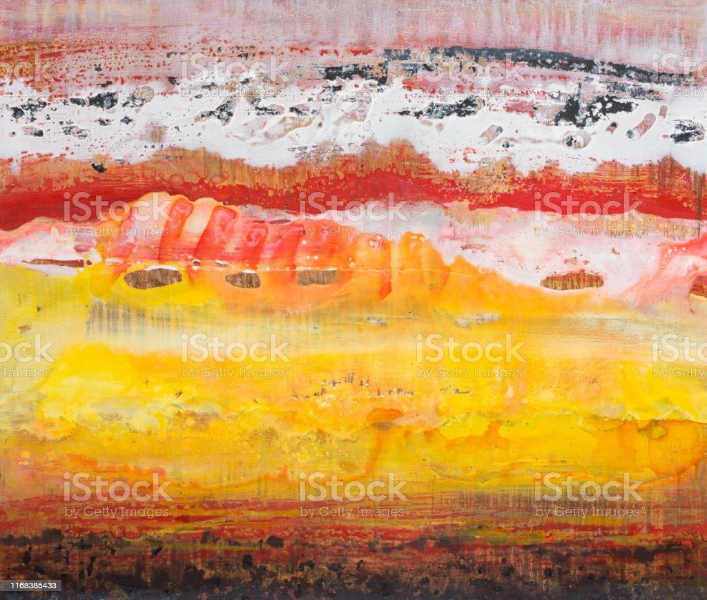La scelta delle pitture murali per interni lavabili e traspiranti colsam è. Pittura A Contrasto In Eleganti Colori Caldi Per Interni Fotografie Stock E Altre Immagini Di Alla Moda Istock