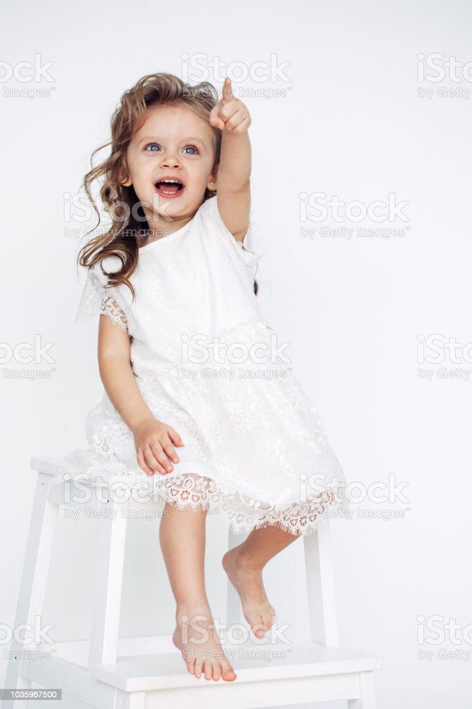 cute little girl in