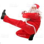 Dancing Santa Claus Stock Photo Download Image Now Istock