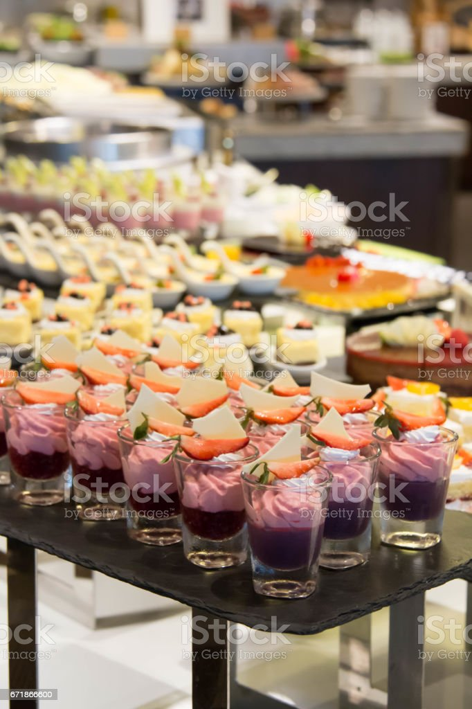 Decoration Buffet Banquet Dessert Table Cakes Stock Photo More