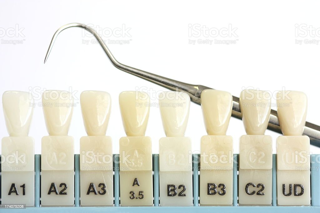 Dental tooth color sample stock photo beautiful smile and white teeth also royalty free chart pictures images photos rh istockphoto