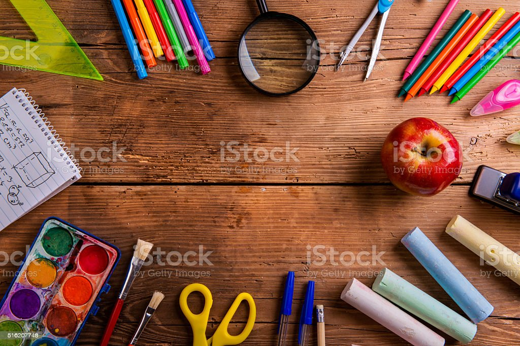 Royalty Free School Supplies Pictures, Images And Stock