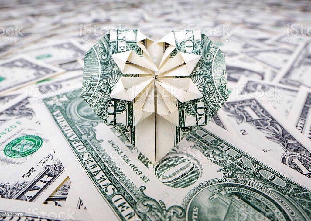 Origami Herz Geldschein Simple Geschenk Im Glas Origami Herzen Aus Falten With Origami Herz