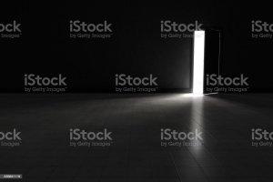 dark background bright door royalty empty dim bedroom wall living