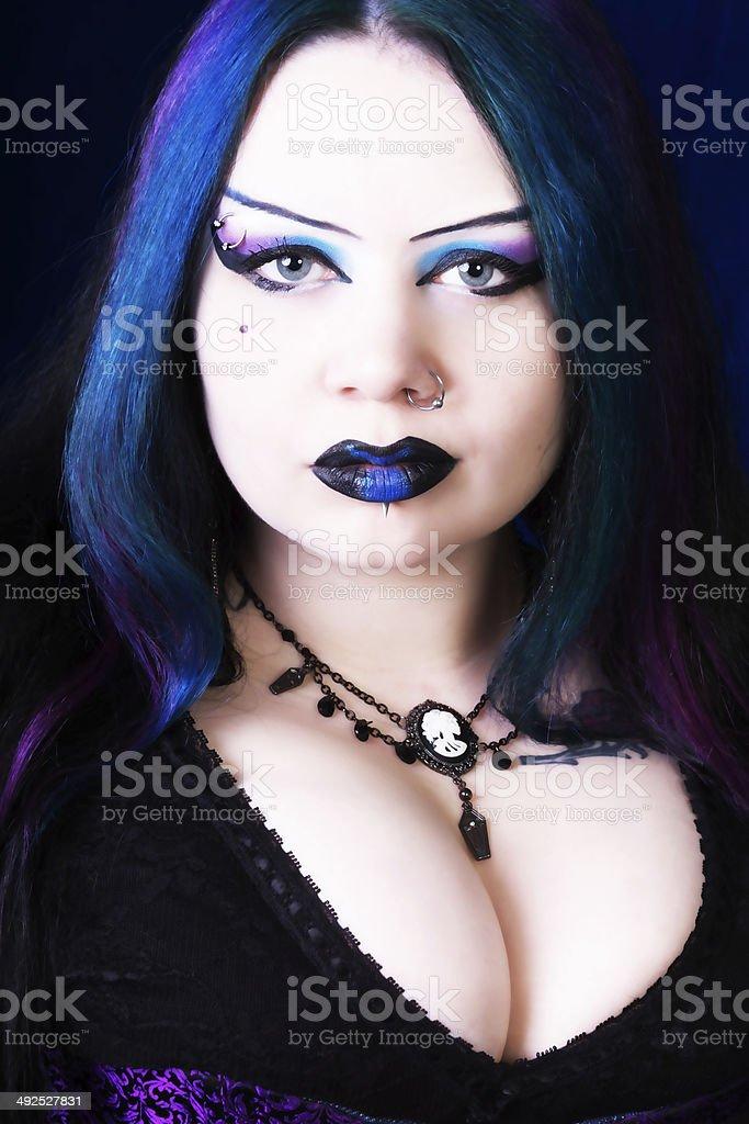 best goth eyebrows stock