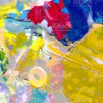 Getrocknete Pigmente Acrylfarbblocke Bunte Abstrakte Kunst Stockfoto Und Mehr Bilder Von Abstrakt Istock