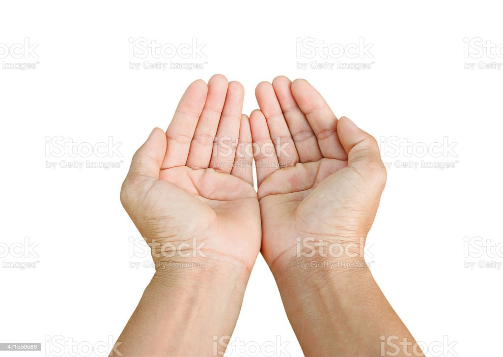 cupping hands together backgrounds