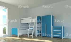 empty bunk bed wall beds functional fun illustration