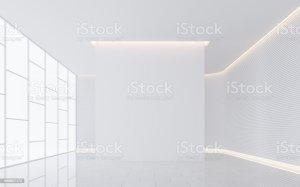 empty space interior 3d modern similar