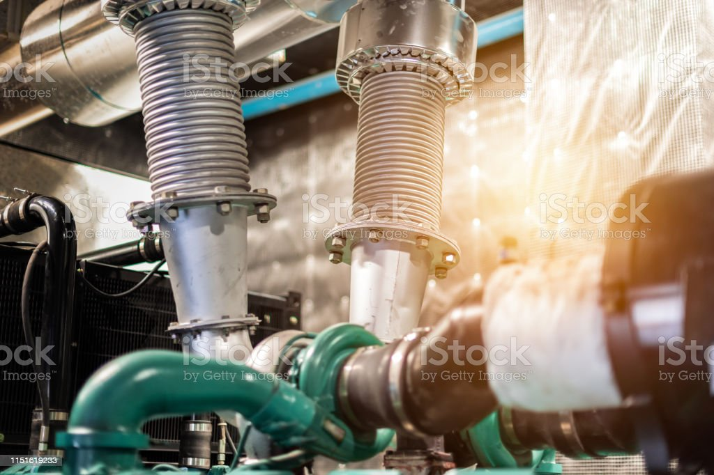 exhaust pipe generator electrical machine stock photo download image now istock