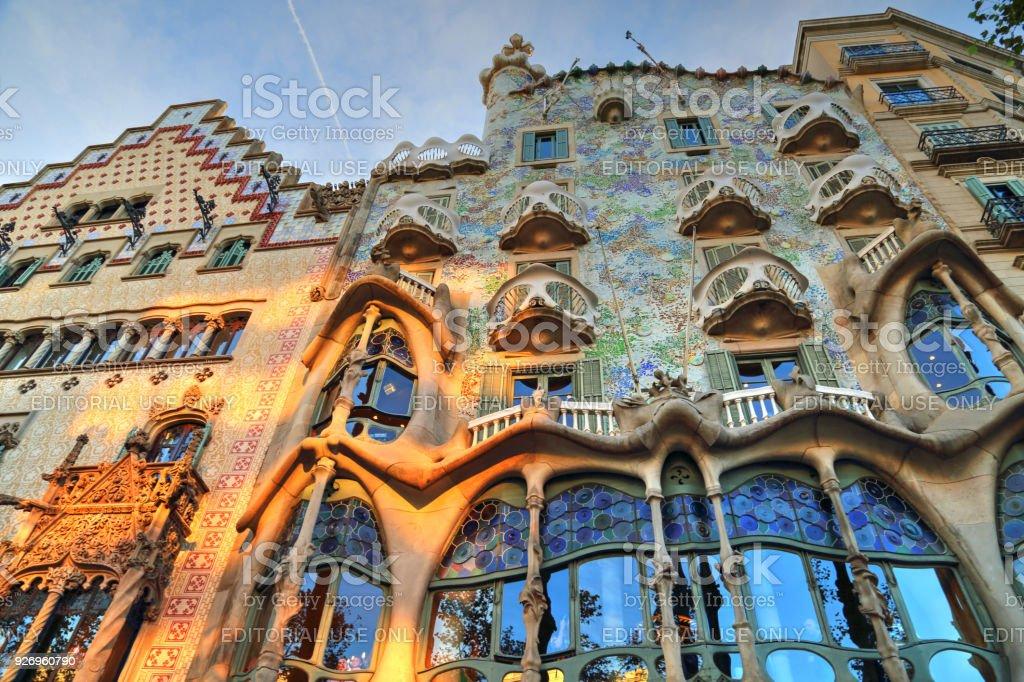Famous Casa Batllo In Barcelona Stock Photo  More Pictures of Antoni Gaud  iStock