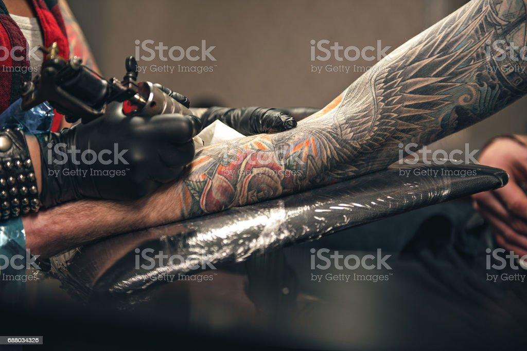 Tatuajes De Frases De Dios Banco De Fotos E Imágenes De Stock Istock