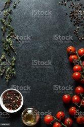 menu background food