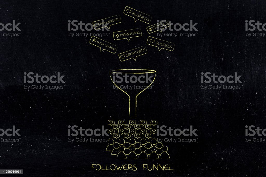 funnel collecting marketing techniques