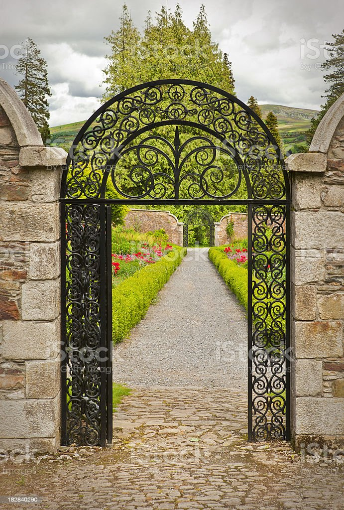 Garden Gate Stock Photo Download Image Now Istock