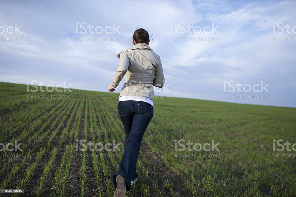 Best Woman Running Scared Stock Photos Pictures Royalty