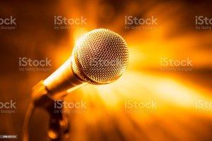 karaoke background stage