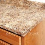 Granite Laminate Kitchen Counter Top Corner Detail Stock Photo Download Image Now Istock