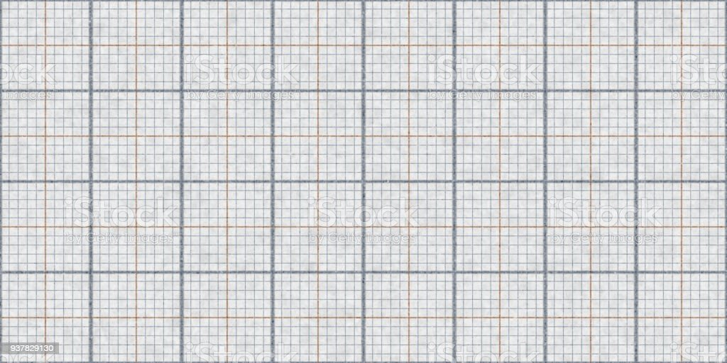 Gray Seamless Millimeter Paper Background Tiling Graph