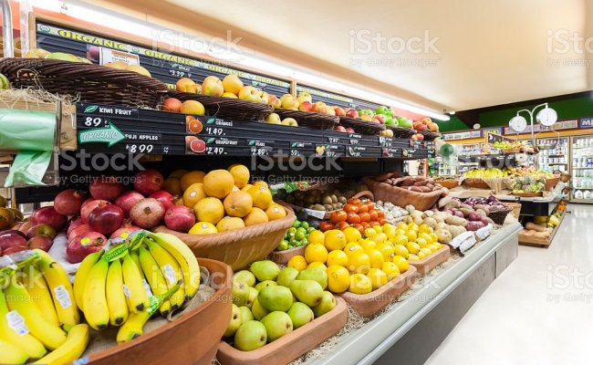 Grocery Store Produce Department Stock Photo Download