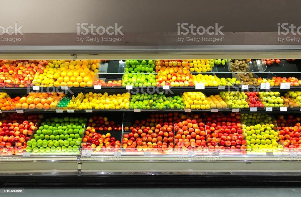 grocery store retail refrigerator
