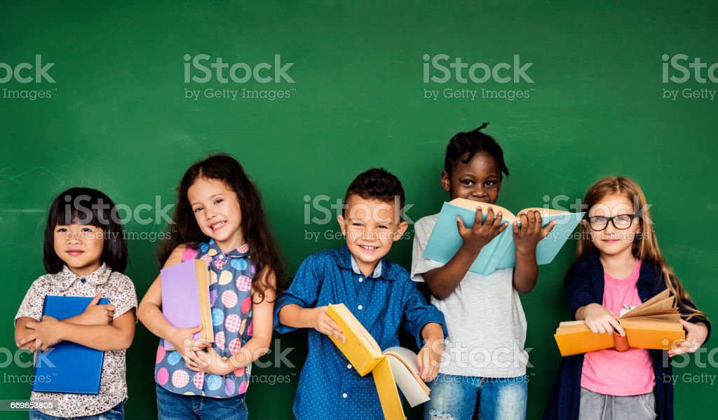 best school children stock