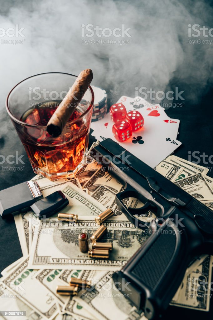 Guns And Money Wallpaper : money, wallpaper, Gambling, Money, Stock, Photos,, Pictures, Royalty-Free, Images, IStock
