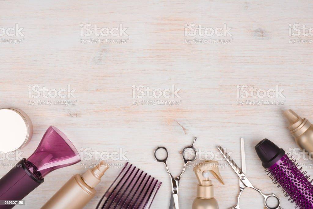 royalty free hair salon