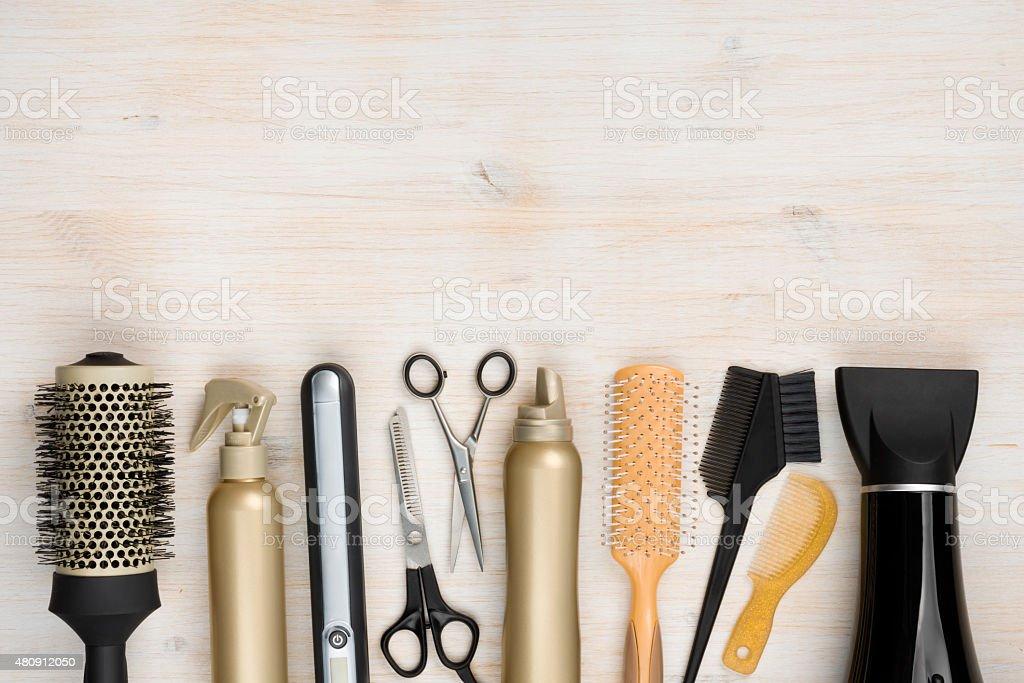 hair salon stock
