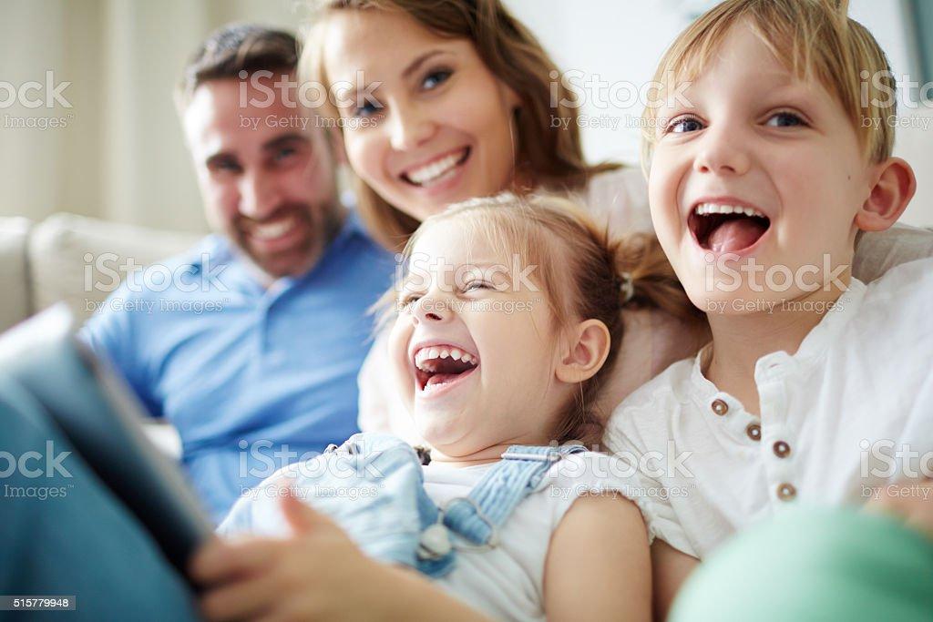 best happy family stock