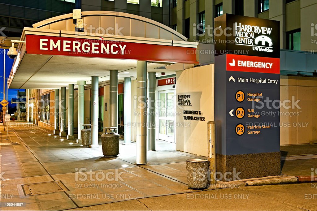 Harborview Medical Center Emergency Stock Photo  More Pictures of Accidents and Disasters  iStock