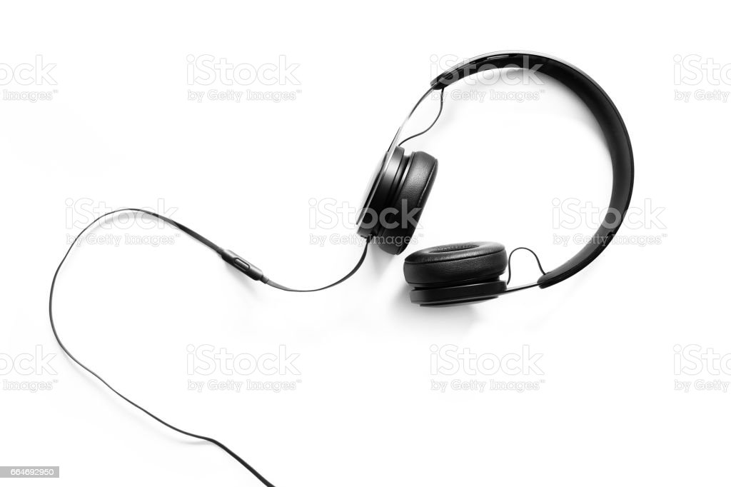 best headphones stock photos