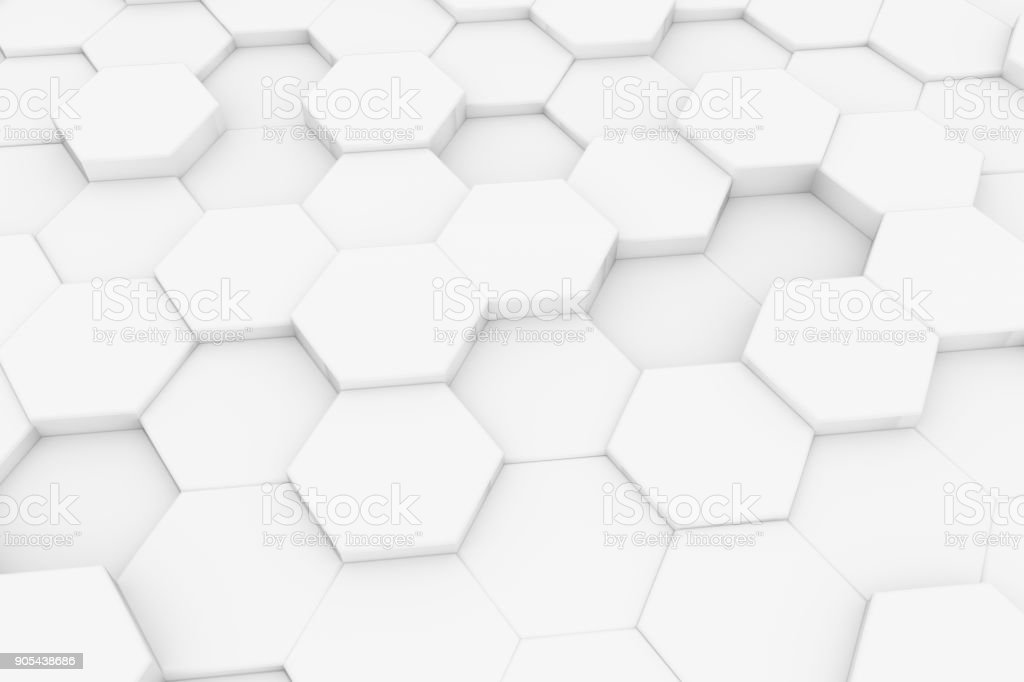 Colc 3d Wallpapers Hexagonal Honeycomb Abstract 3d Background Stock Photo