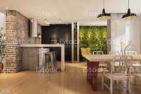 Hipster Apartment Interior Stock Photo & More Pictures of ...