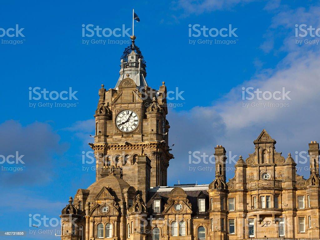 Historic Buildings Of Edinburgh Balmoral Hotel Scotland
